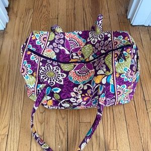 Vera Bradley Medium Duffel Bag Floral 20""
